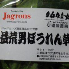 「益荒男ほうれん草」を食べて、カンボジアの子供たちの教育支援をしよう!!