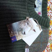 ブリティッシュ・ウール100%のセーターをゲット!